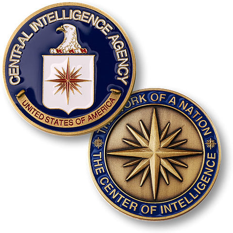 Central Intelligence Agency  Challenge Coin Credential Case - MaxArmory