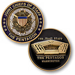 Joint Chiefs of Staff/Pentagon  Challenge Coin Credential Case - MaxArmory