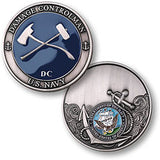 Navy Damage Controlman Challenge Coin Credential Case