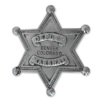 Denver Deputy Marshal Silver Star badge - MaxArmory