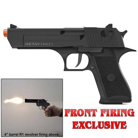RETAY EAGLE L SPIRIT Black - 9mm Front Firing Blank Gun