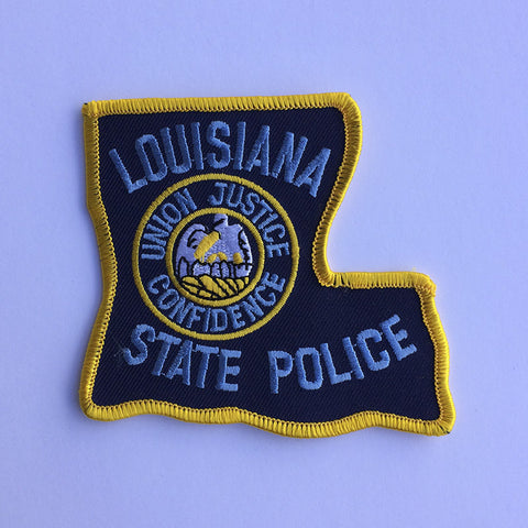 Louisiana State Police patch - MaxArmory