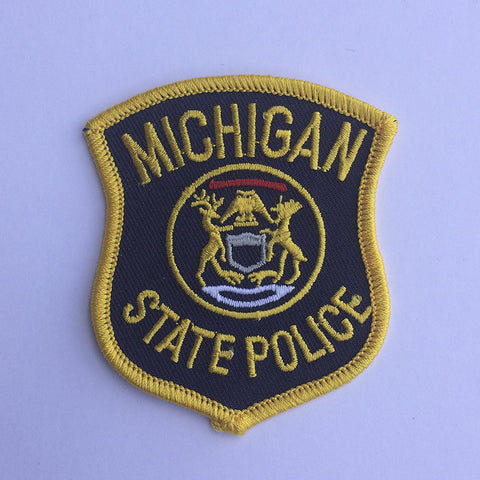 Michigan State Police patch - MaxArmory