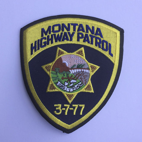 Montana Highway Patrol patch - MaxArmory
