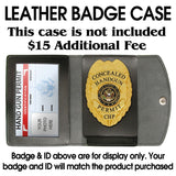 435 Concealed Weapon Permit Badge