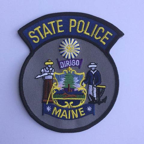 Maine State Police patch - MaxArmory