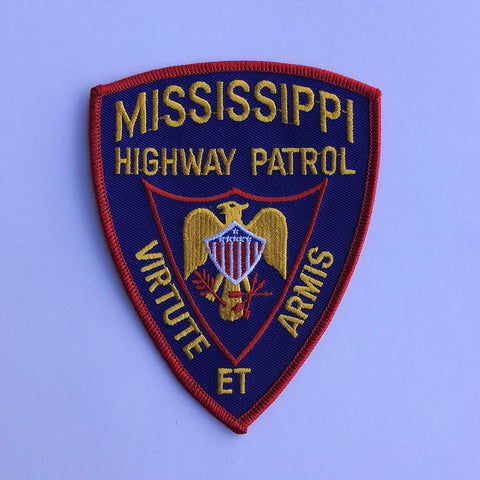 Mississippi Highway Patrol patch