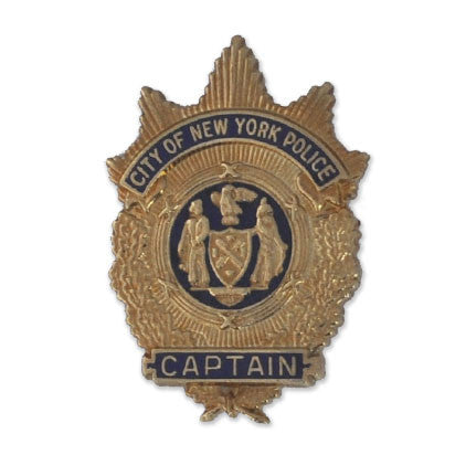 NYPD Captain Badge