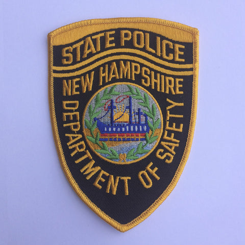 New Hampshire State Police patch - MaxArmory
