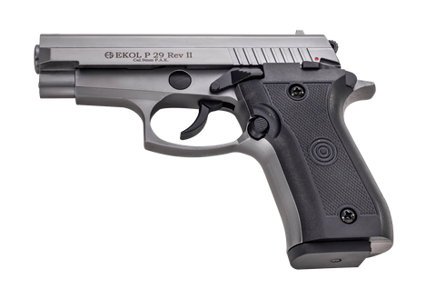 EKOL P29 REV II Fume - Top Firing 9mm Blank Gun