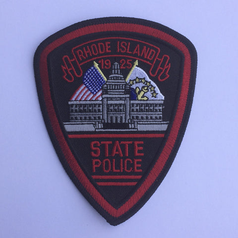 Rhode Island State Police patch - MaxArmory