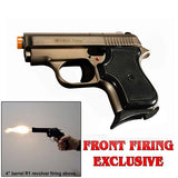 (FREE 25 RDS OF AMMO) EKOL Tuna V950 Fume - Front Fire 8mm Blank Firing Guns