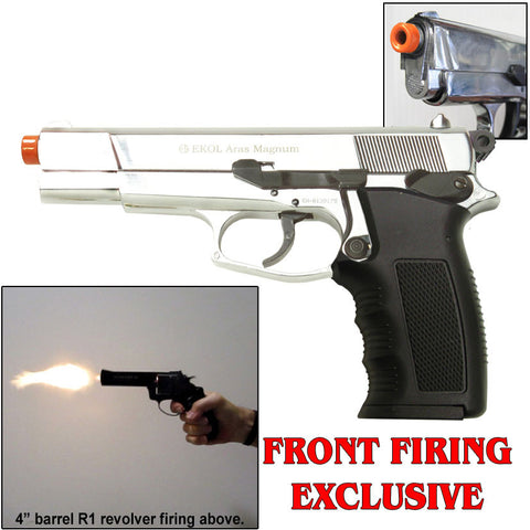 ARAS Chrome - Blank Firing Replica Gun