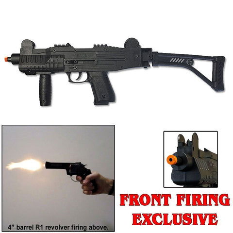 ASI - MAX-UZI - Blank Front Firing Machine Gun with Folding Stock