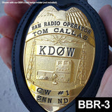 Ham Radio Operators Badge - Custom Engraved Badge - MaxArmory