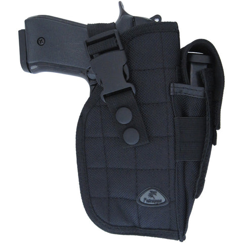 Belt Pistol Holster - Black - MaxArmory