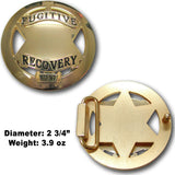Fugitive Recovery Agent Belt Buckle - MaxArmory