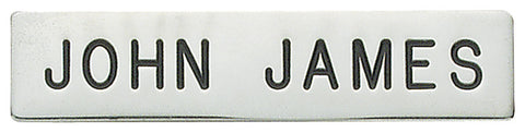 c558 - Custom Engraved Name Plate - MaxArmory