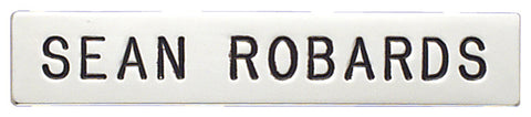 c558a - Custom Engraved Name Plate - MaxArmory