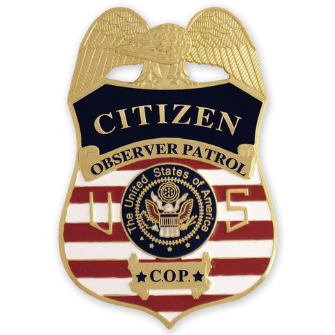 MX - Citizen Observer Patrol Badge - MaxArmory