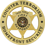 Counter Terrorism Homefront Security Badge Set - MaxArmory