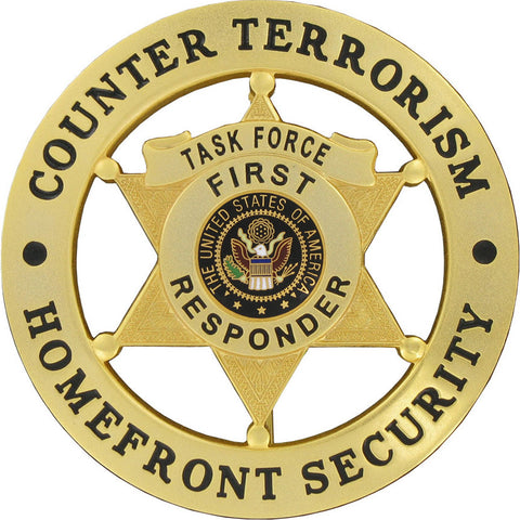 Counter Terrorism Homefront Security Badge Set