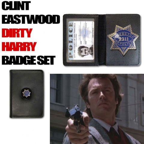 Dirty Harry Collectible Badge Set