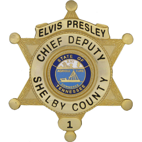Elvis Presley - Collector Badge