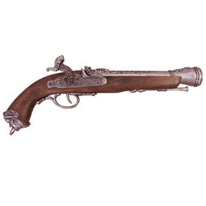 18th Century Italian Flintlock Pistol - Grey