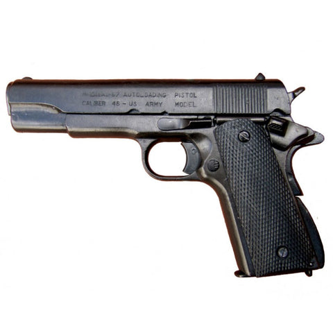 Denix M1911 .45 Caliber Government Automatic - Black - Non-Firing Replica Gun