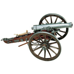 Denix - Civil War Miniature 12 Pounder Cannon - 1861