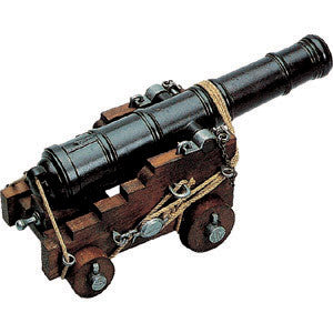 Denix - Replica Civil War Miniature British Naval Cannon
