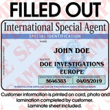 International Special Agent - MaxArmory