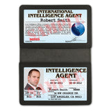 International Intelligence Agent Folio - Custom Made