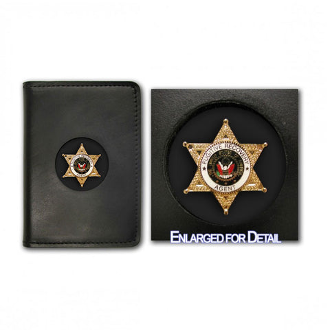 Fugitive Recovery Agent Badge Case