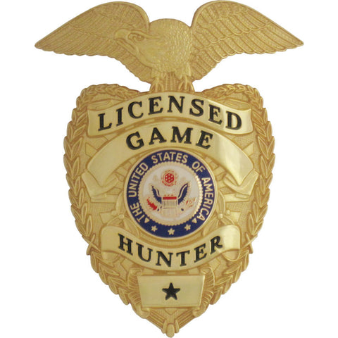 Game Hunter Badge Set