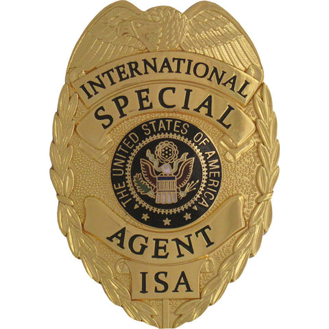 435 International Special Agent Badge Set - MaxArmory