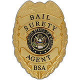 435 Bail Surety Agent Badge Set - MaxArmory