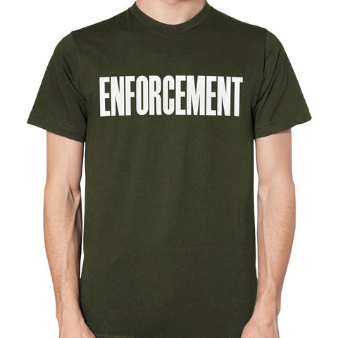 Custom Made Enforcement T-Shirt - MaxArmory