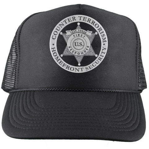 Counter Terrorism Homefront Security Hat - MaxArmory