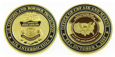 Challenge Coin Credential Case - CBP Air and Marine