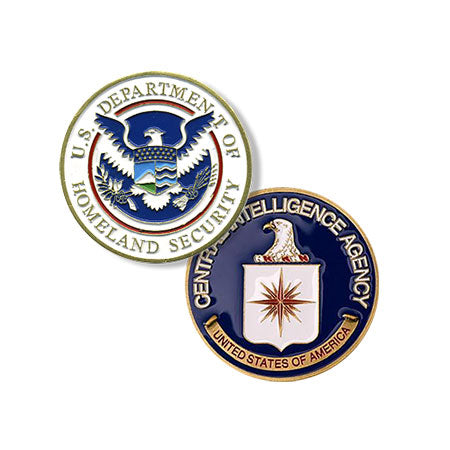 Home Security / CIA Challenge Coin
