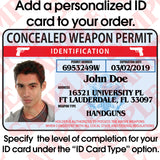 435 Concealed Weapon Permit ID - MaxArmory