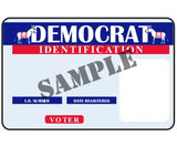 Democrat ID Sample