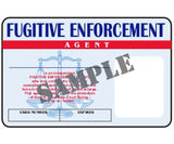 Fugitive Enforcement Agent ID Card - MaxArmory