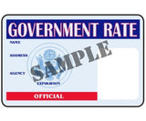 Government Rate Official ID Card - MaxArmory