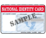 National Identity Card - MaxArmory