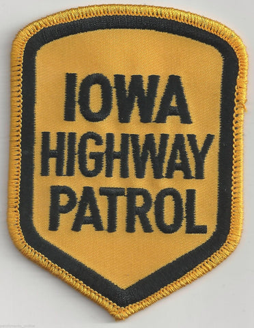 Iowa Highway Patrol Patch - MaxArmory
