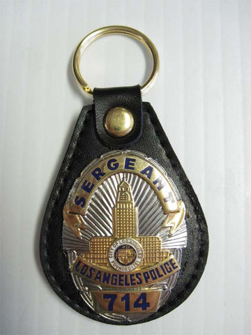 LAPD Joe Friday DRAGNET Collectible Key Fob - MaxArmory