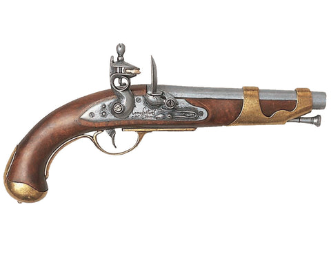 1800 French Cavalry Flintlock Pistol - Non-Firing Replica